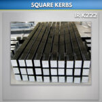 Black Flat Granite Kerb Sets