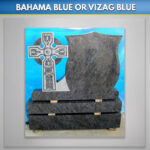 Crest Cross Blue Lagoon Granite