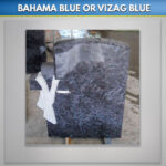 Blue Lagoon Cross and Shroud Granite
