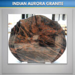 Indian Aurora Double Flame Headstone