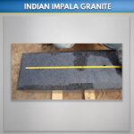 Indian Impala Granite Bases
