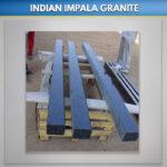 Indian Impala Granite Square Kerbs