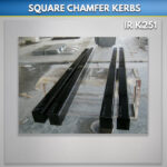 Black Kerbs Polished grave kerbing