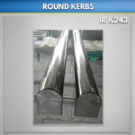 round top granite kerbs