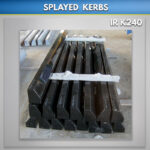 Splayed Black Kerb Sets