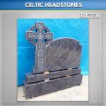 black boyne celtic cross headstone