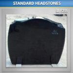 A25 Black Granite headstone