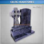 Blue Lagoon A 35 Granite Celtic headstone
