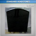 Boulder Granite headstone