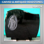 C1 Headstone with Our Lady Antiqued