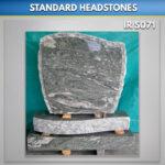 Pitched C 1 Kuppam Green Granite Headstone