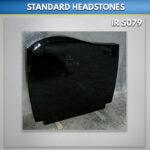 C 1 Black Granite Headstone