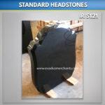 standard grave headstones