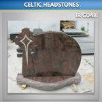 Aurora Celtic Star Headstone