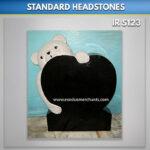 teddy bear headstones