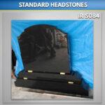 black granite RTFS Set for Grave