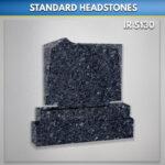 M 5 blue pearl granite monument