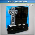 Sharky Cross Celtic headstone