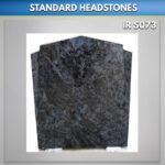 Black winged Apex Granite Monument