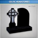 Black Celtic Link Cross Antiqued