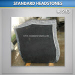 Pitched Shield Granite Headston