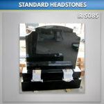 Black RTFS Granite Headstone Set