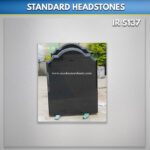 Black RTFS Granite Headstone