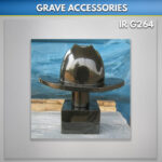 Granite Cowboy Hat with Stand