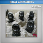Granite vases for graves
