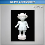 Marble statue baby Doll