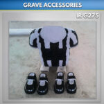 granite shoes for graves