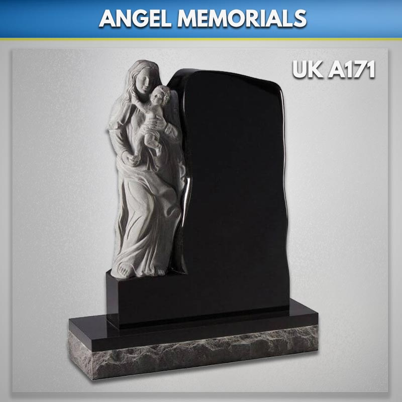 Carved Angel Memorials And Headstones Uk